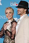 Britneys madonnas kyss i natt