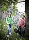 ÅPNER OPP: «En glad gutt og søstera til dophuet» kaller Øivind (37) og Jeanette Flagstad (42) bloggen og boka som kommer – om deres erfaringer som henholdsvis rusmisbruker og pårørende.  Foto: Geir Dokken