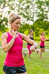 PULS: Ønsker du maks effekt av treningen din, kan det være hjelpsomt (og smart) å følge med på pulsen din. Det gjør du for eksempel ved bruk av en pulsklokke.  Foto: julief514 - Fotolia