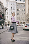 Blogger Janka Polliani har stylet høstens KappAhl-nyheter. La deg inspirere! Foto: KappAhl